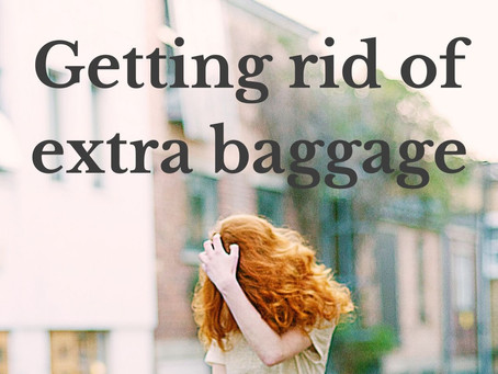 Getting rid of extra baggage
