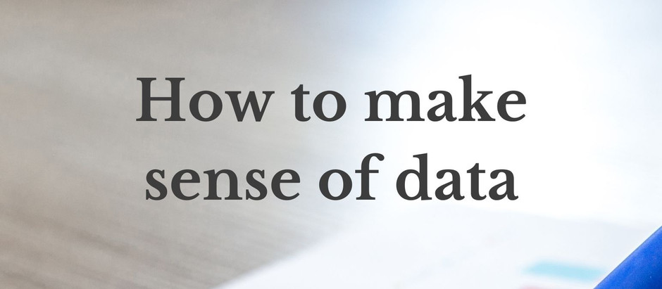 How to make sense of data
