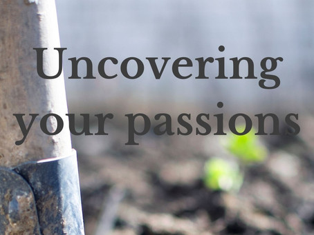 Uncovering your passions