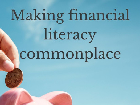 Making financial literacy commonplace