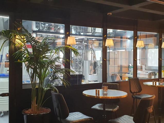 עיצוב מסעדת שף בסגנון בראסרי סטייל אירופאי