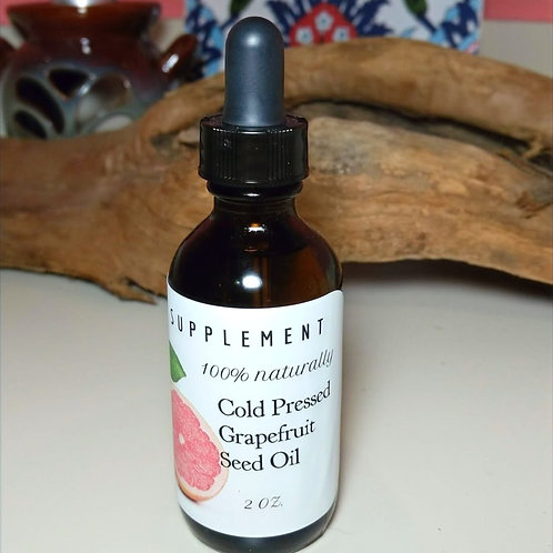Cold Pressed Grapefruit Seed Oil