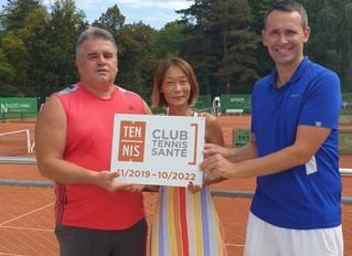 """Le label """"Club Tennis Santé"""" pour le TCO"""