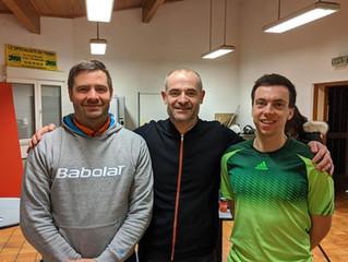 Tony Triquenot au tennis club des Romains