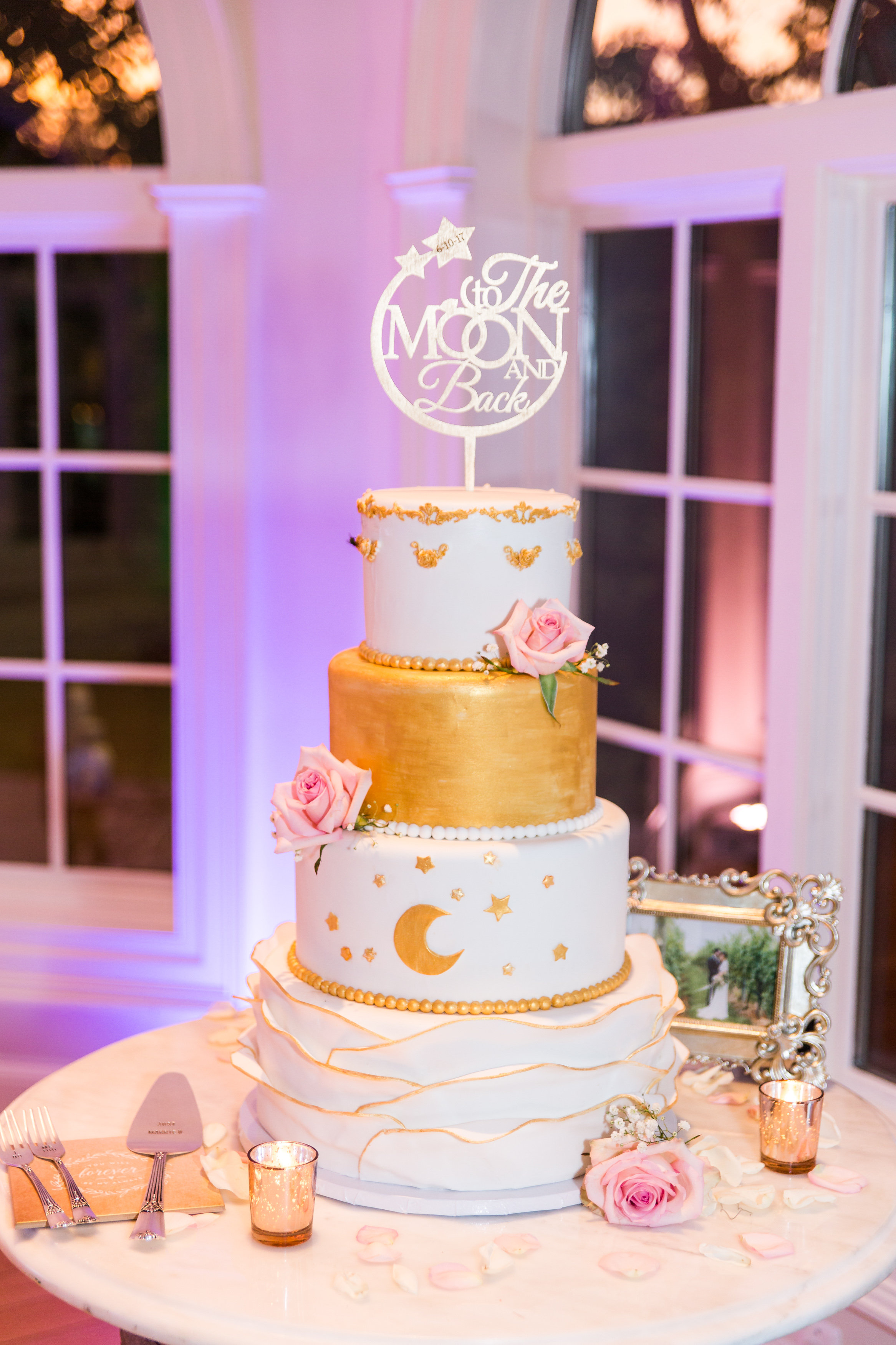 Celestial cake