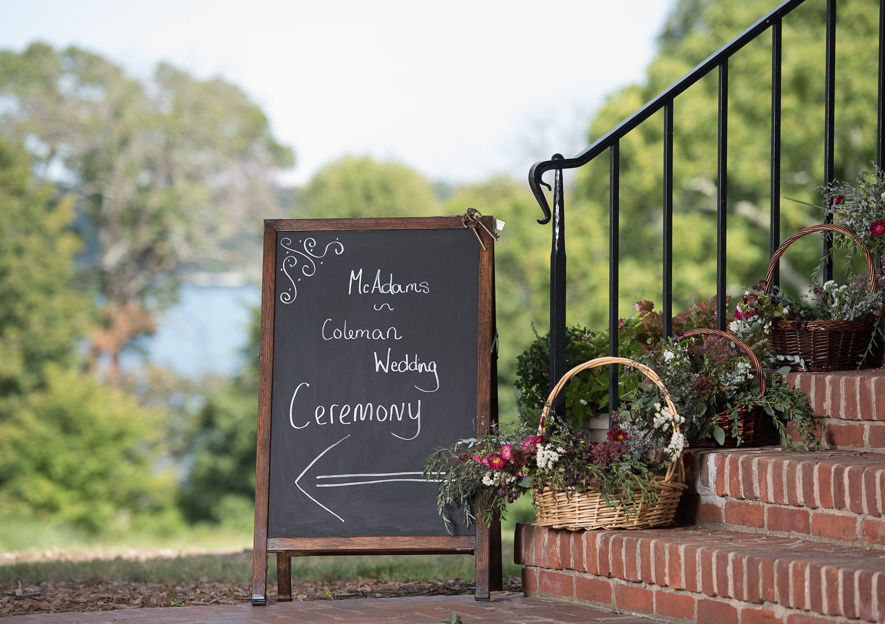 Double Sided Chalkboard Sign