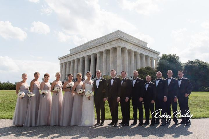 Washington Wedding The Bridal Party