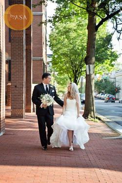 Newlywed Stroll