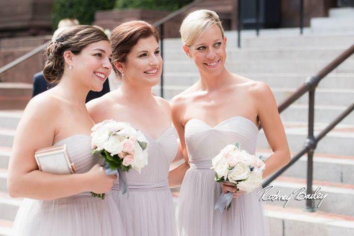Bridesmaid Happiness