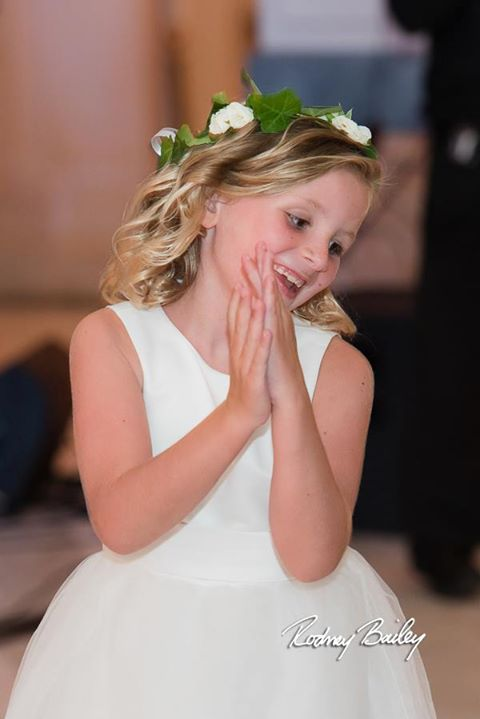 More Flower Girl Cuteness