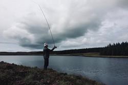 Enjoying perfect solitude on the Loch