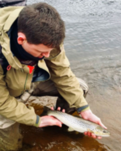 Fly fishing for Sea Trout Isle of Skye