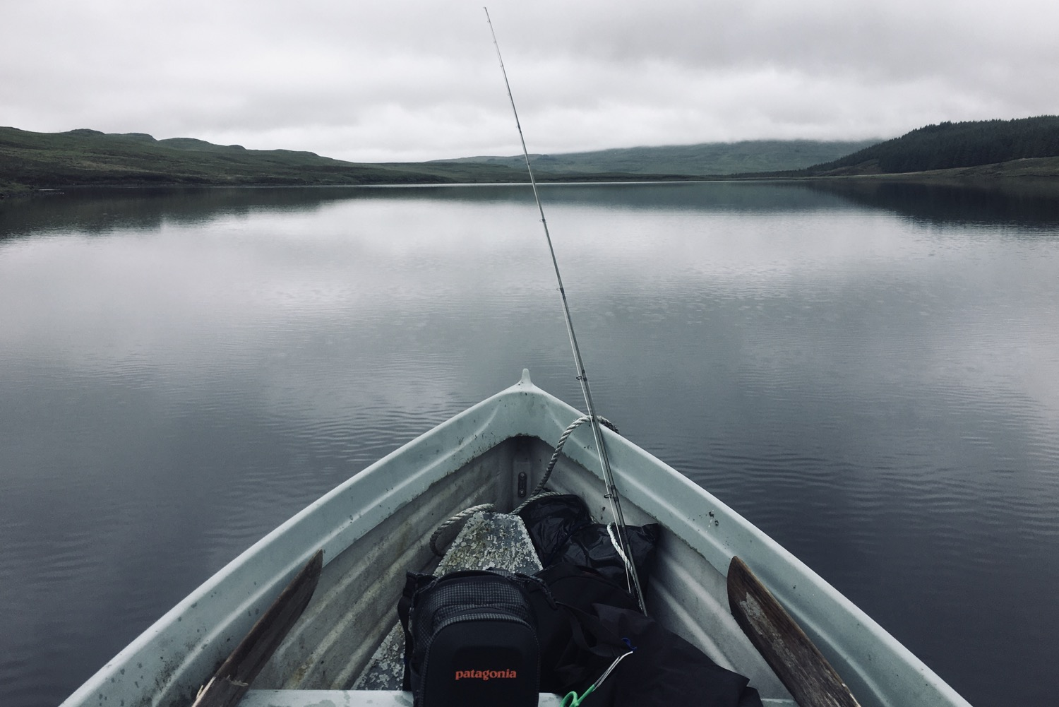A lovely calm day on the Loch