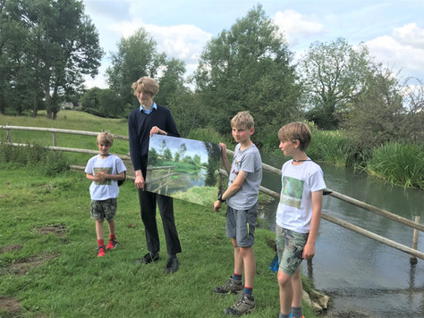 Thames Water CEO meets WASP.