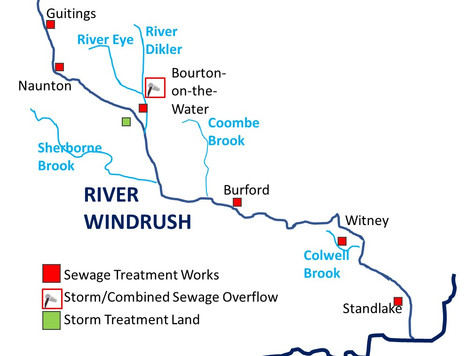 Windrush Walk - the slow way