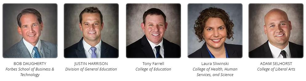 Ashford University Executive Deans