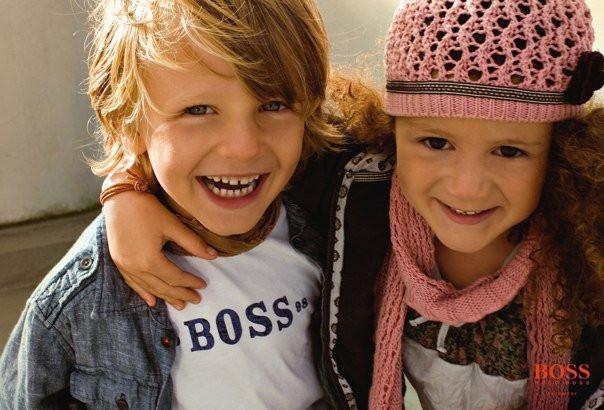 Hugo Boss Kids Kampagne
