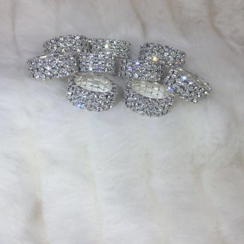 Fancy Rhinestone Rings