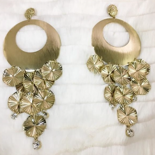 Oversized Chandelier Earrings
