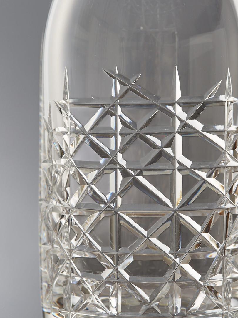 Lead crystal glass