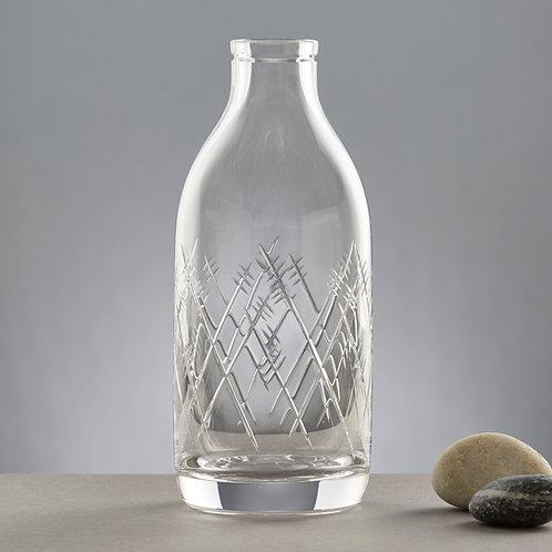 Aerial Cut Crystal Milk bottle