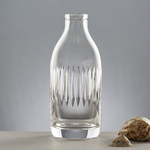 Line Cut Crystal Milk bottle