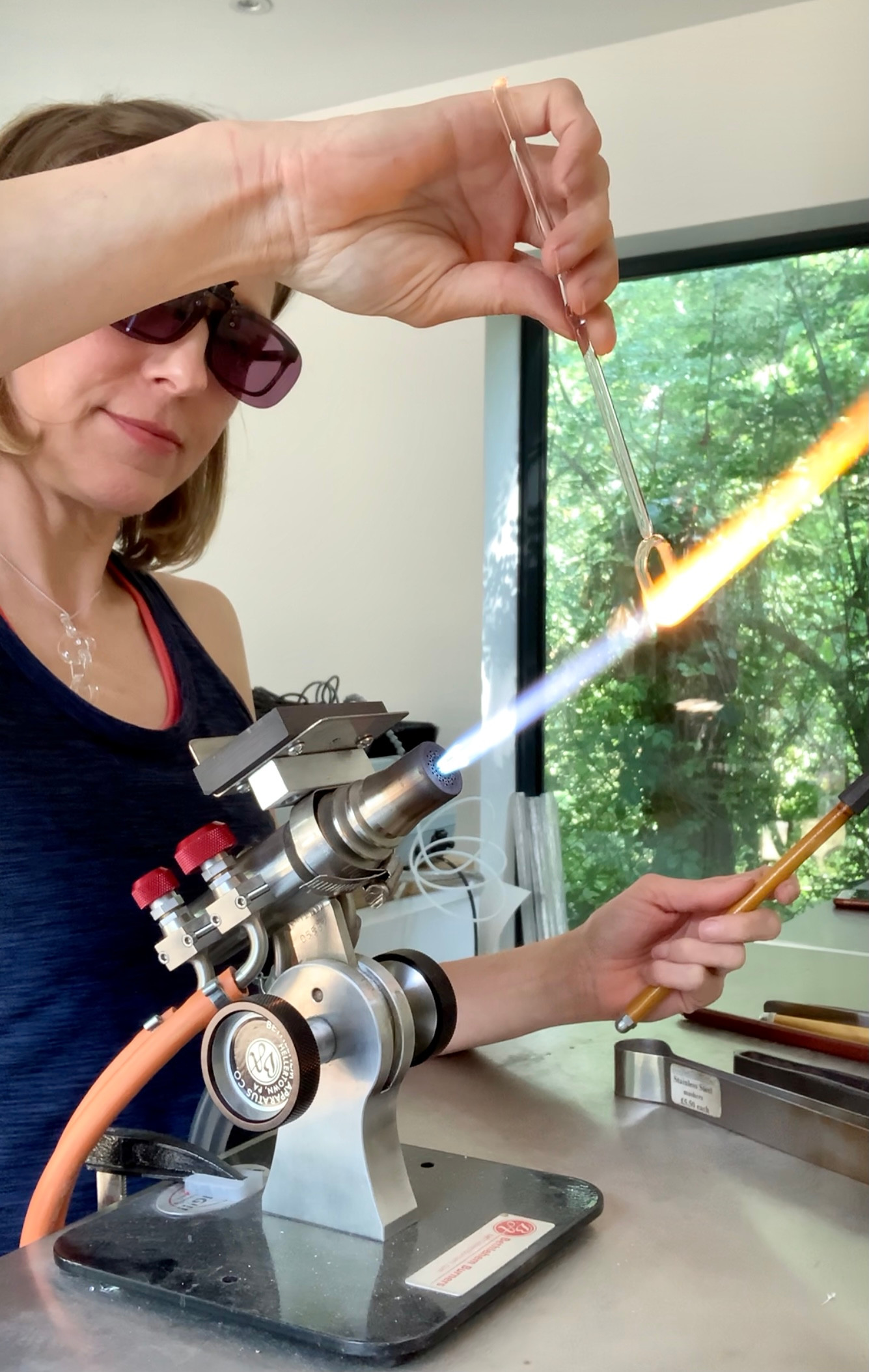 1-1 introduction to lampwork glass rings