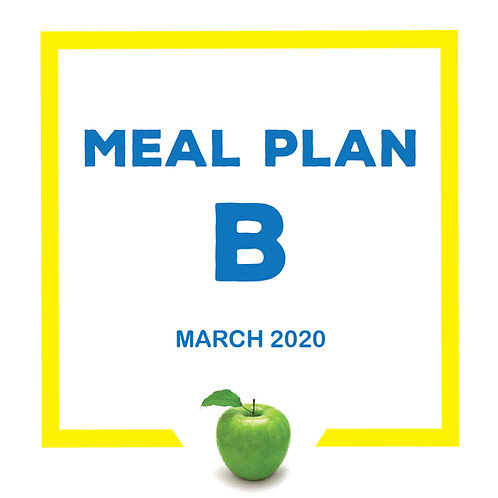 Meal Plan B - March 2020 SJS