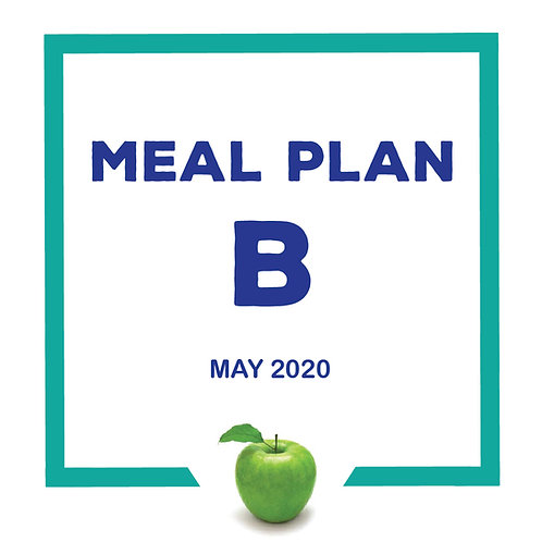 Meal Plan B - May 2020 SJS 8TH