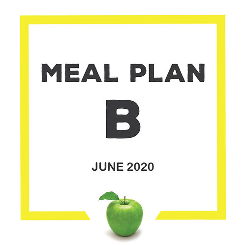 Meal Plan B - June 2020 SJS