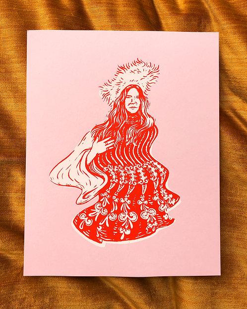 Janis print