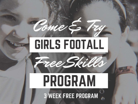 Come and Try Girls Football program.