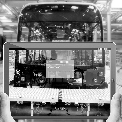 realite augmentee bus assemblage qualite
