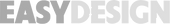 Logo gris EASYDESIGN marque Groupe DEMS