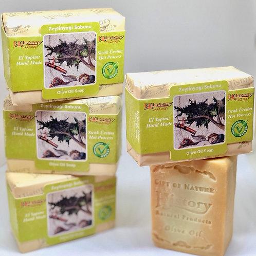 〈 イラクサ 〉ニキビなど肌荒れに 自然派スキンケアソープ 無添加100% トルコからのオイル石鹸  全身使える!