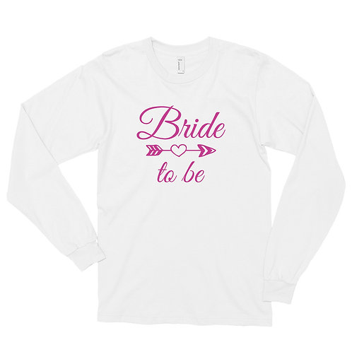 Bride Long sleeve t-shirt