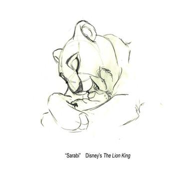 The Lion King -- Sarabi, Infant Simba