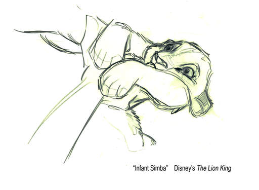 The Lion King -- Infant Simba
