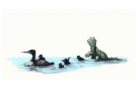 The Little Green Duck