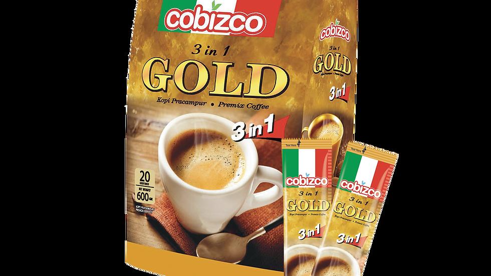 Cobizco 3IN1 Gold Coffee