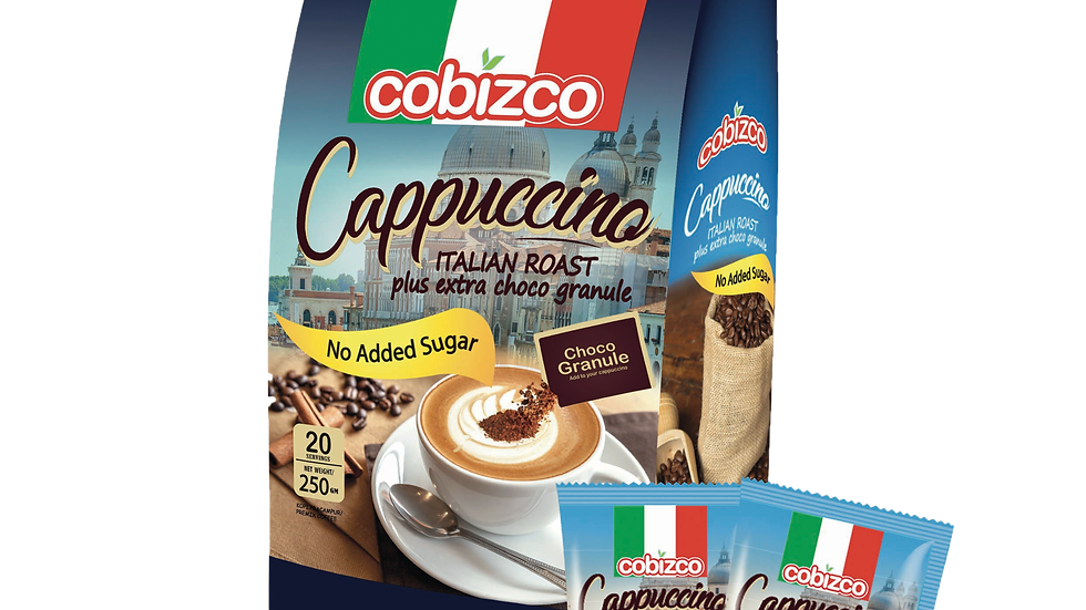 Cobizco Cappuccino (NO ADDED SUGAR)