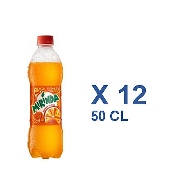Mirinda Orange. Citron. pomme 50cl x 12