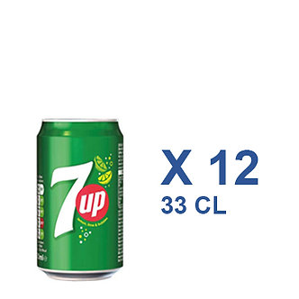 7UP CAN 33cl x 12