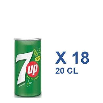 7UP 20cl x 18
