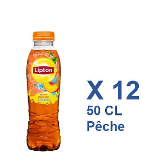 Lipton Ice Tea Pêche 50CLx12
