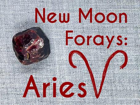 New Moon Forays: Aries 2021