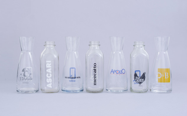 Q water - sample of co-branded vessels -