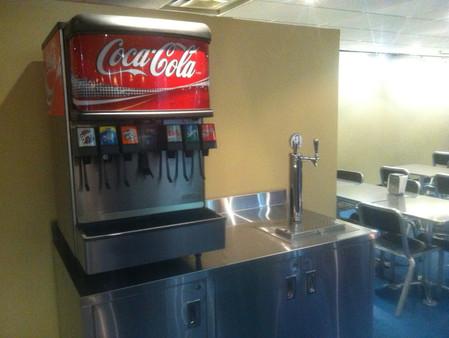 Custom Lunchroom Q water Tower