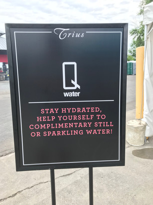 Q water sign