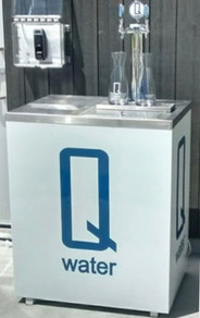 Q water Protable Unit for Events and Patios
